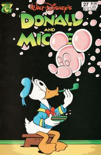 Cover Thumbnail for Walt Disney's Donald and Mickey (Gladstone, 1993 series) #27