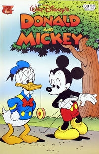 Cover Thumbnail for Walt Disney's Donald and Mickey (Gladstone, 1993 series) #30