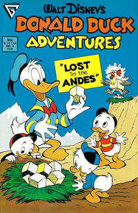 Cover Thumbnail for Walt Disney's Donald Duck Adventures (Gladstone, 1987 series) #3