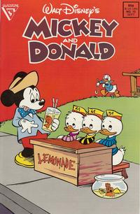 Cover Thumbnail for Walt Disney's Mickey and Donald (Gladstone, 1988 series) #13