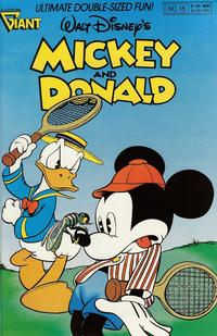 Cover Thumbnail for Walt Disney's Mickey and Donald (Gladstone, 1988 series) #18