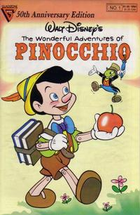 Cover Thumbnail for Walt Disney's Pinocchio Special (Gladstone, 1990 series) #1 [Direct]