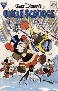 Cover Thumbnail for Walt Disney's Uncle Scrooge (Gladstone, 1986 series) #215 [Direct]