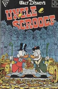 Cover Thumbnail for Walt Disney's Uncle Scrooge (Gladstone, 1986 series) #219 [Direct Sales Edition]