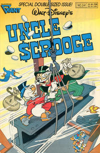 Cover Thumbnail for Walt Disney's Uncle Scrooge (Gladstone, 1986 series) #241
