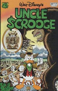 Cover Thumbnail for Walt Disney's Uncle Scrooge (Gladstone, 1993 series) #287 [Direct]