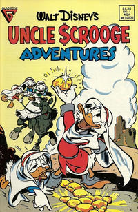 Cover Thumbnail for Walt Disney's Uncle Scrooge Adventures (Gladstone, 1987 series) #1 [Direct]