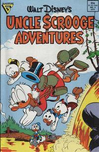 Cover Thumbnail for Walt Disney's Uncle Scrooge Adventures (Gladstone, 1987 series) #4 [Direct]