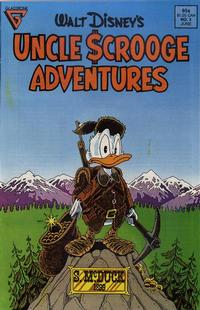 Cover Thumbnail for Walt Disney's Uncle Scrooge Adventures (Gladstone, 1987 series) #5 [Direct]