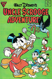 Cover Thumbnail for Walt Disney's Uncle Scrooge Adventures (Gladstone, 1987 series) #7 [Direct]