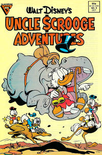 Cover Thumbnail for Walt Disney's Uncle Scrooge Adventures (Gladstone, 1987 series) #8 [Direct]