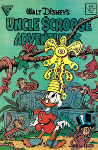 Cover Thumbnail for Walt Disney's Uncle Scrooge Adventures (Gladstone, 1987 series) #11 [Direct]