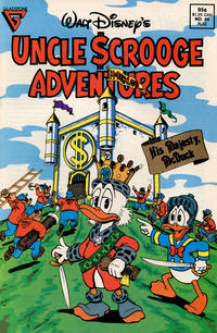Cover Thumbnail for Walt Disney's Uncle Scrooge Adventures (Gladstone, 1987 series) #14 [Direct]