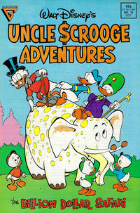 Cover Thumbnail for Walt Disney's Uncle Scrooge Adventures (Gladstone, 1987 series) #16 [Direct]
