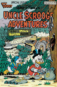 Cover Thumbnail for Walt Disney's Uncle Scrooge Adventures (Gladstone, 1987 series) #20