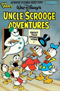 Cover Thumbnail for Walt Disney's Uncle Scrooge Adventures (Gladstone, 1987 series) #21