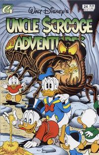 Cover Thumbnail for Walt Disney's Uncle Scrooge Adventures (Gladstone, 1993 series) #24