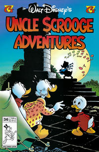 Cover Thumbnail for Walt Disney's Uncle Scrooge Adventures (Gladstone, 1993 series) #36
