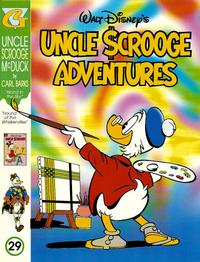 Cover Thumbnail for Walt Disney's Uncle Scrooge Adventures in Color (Gladstone, 1996 series) #29