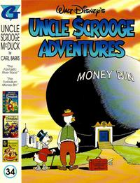 Cover Thumbnail for Walt Disney's Uncle Scrooge Adventures in Color (Gladstone, 1996 series) #34