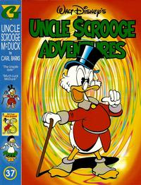 Cover Thumbnail for Walt Disney's Uncle Scrooge Adventures in Color (Gladstone, 1996 series) #37