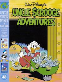 Cover Thumbnail for Walt Disney's Uncle Scrooge Adventures in Color (Gladstone, 1996 series) #48