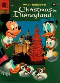 Cover Thumbnail for Walt Disney's Christmas In Disneyland (Dell, 1957 series) #1