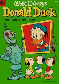 Cover Thumbnail for Donald Duck (Dell, 1952 series) #28