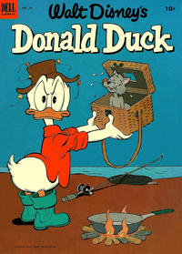 Cover Thumbnail for Donald Duck (Dell, 1952 series) #29