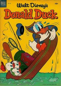 Cover Thumbnail for Donald Duck (Dell, 1952 series) #36