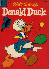 Cover Thumbnail for Walt Disney's Donald Duck (Dell, 1952 series) #50