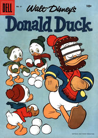 Cover Thumbnail for Donald Duck (Dell, 1952 series) #51