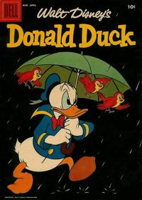 Cover Thumbnail for Donald Duck (Dell, 1952 series) #58