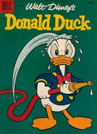 Cover Thumbnail for Donald Duck (Dell, 1952 series) #60