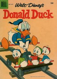 Cover Thumbnail for Walt Disney's Donald Duck (Dell, 1952 series) #61