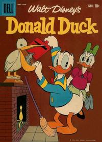 Cover Thumbnail for Donald Duck (Dell, 1952 series) #65