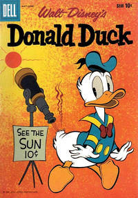 Cover Thumbnail for Donald Duck (Dell, 1952 series) #71