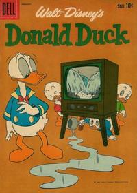 Cover Thumbnail for Donald Duck (Dell, 1952 series) #75