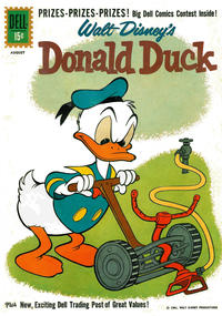 Cover Thumbnail for Donald Duck (Dell, 1952 series) #78