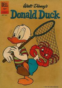 Cover Thumbnail for Donald Duck (Dell, 1952 series) #84