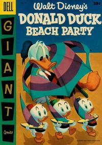 Cover Thumbnail for Walt Disney's Donald Duck Beach Party (Dell, 1954 series) #3