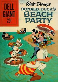 Cover Thumbnail for Walt Disney's Donald Duck Beach Party (Dell, 1954 series) #6