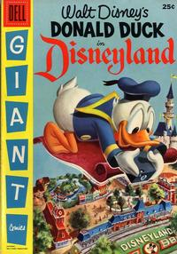 Cover Thumbnail for Walt Disney's Donald Duck in Disneyland (Dell, 1955 series) #1