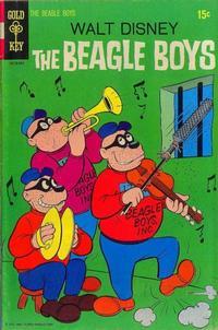 Cover Thumbnail for Walt Disney The Beagle Boys (Western, 1964 series) #9