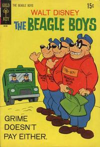 Cover Thumbnail for Walt Disney The Beagle Boys (Western, 1964 series) #11