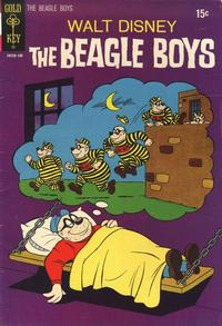 Cover Thumbnail for Walt Disney The Beagle Boys (Western, 1964 series) #12