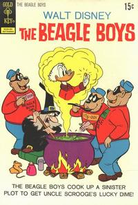 Cover Thumbnail for Walt Disney The Beagle Boys (Western, 1964 series) #14 [Gold Key Variant]
