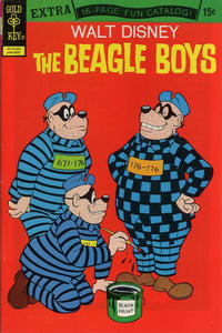 Cover Thumbnail for Walt Disney The Beagle Boys (Western, 1964 series) #15 [Gold Key]