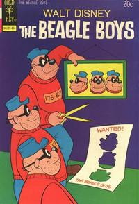 Cover Thumbnail for Walt Disney The Beagle Boys (Western, 1964 series) #20 [Gold Key Variant]