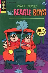 Cover Thumbnail for Walt Disney The Beagle Boys (Western, 1964 series) #27 [Gold Key]
